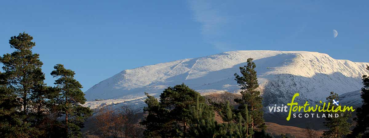 Aonach Mor and Nevis Range, Copyright Visit Fort William Ltd